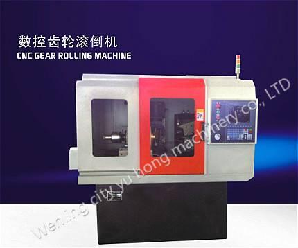 CNC gear hob chamfering machine
