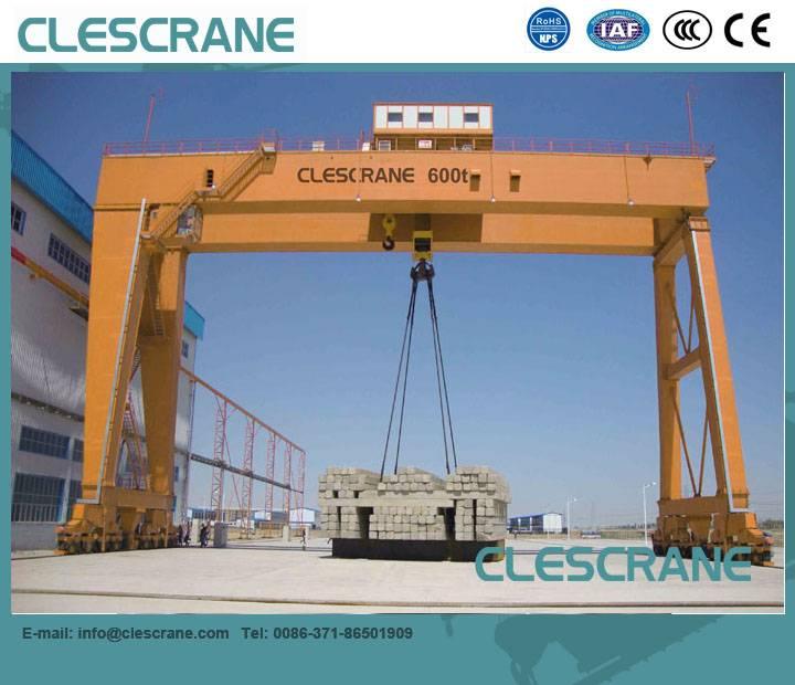 CWG Series 5-320t Heavy Duty Double Beam Winch Gantry Crane $1000-$20000