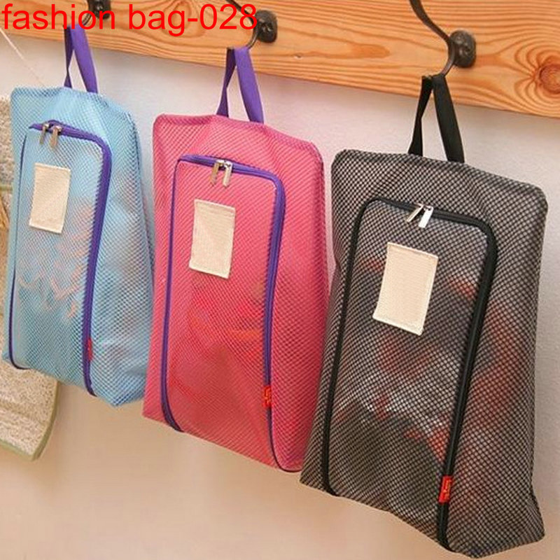 Lightweight Custom Mesh Storage Traveling Tote Shoe Bags