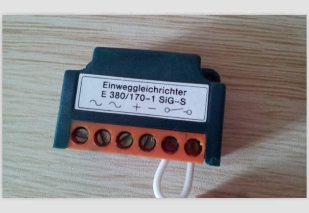 Einweggleichrichter/E380/170-1SiG-S/E400/175-1SiG-S/ ME380/170-2Si-S/B400/350-2SiG-S/ MB380/335-2SiG