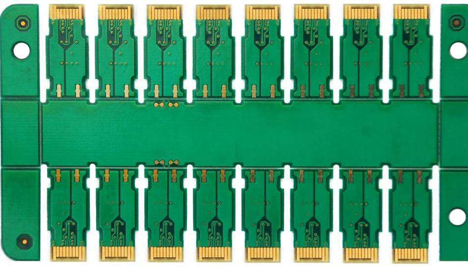 mktpcb 6layers ENIG thick gold board