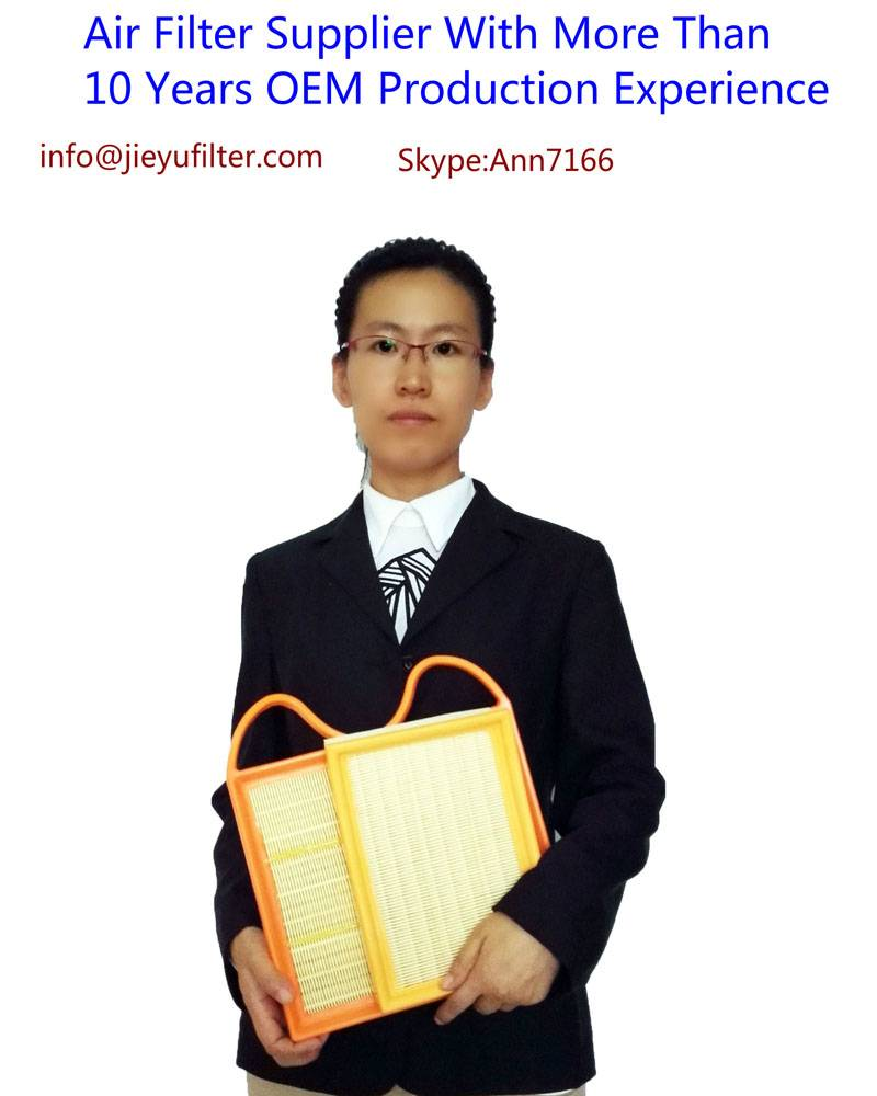 automotive air filter-jieyu automotive air filter customer repeat order more than 7 years