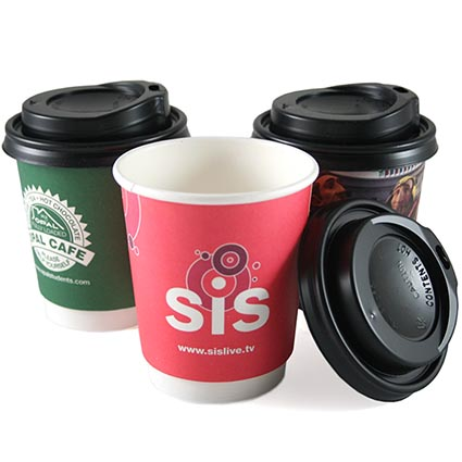 8oz Double Wall Paper Cup for Hot Coffee