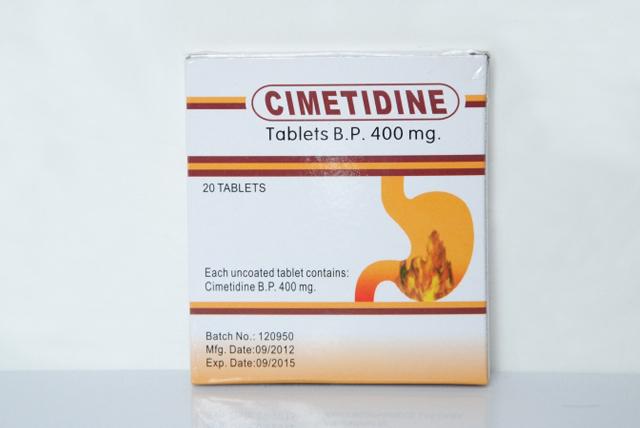 Cimetidine Tablets 400mg - ZhuHai Aoshun Medicine Co.Ltd
