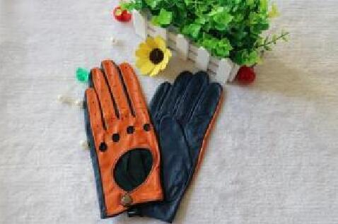 Leather Driving Gloves Genuine Top Quality Leather