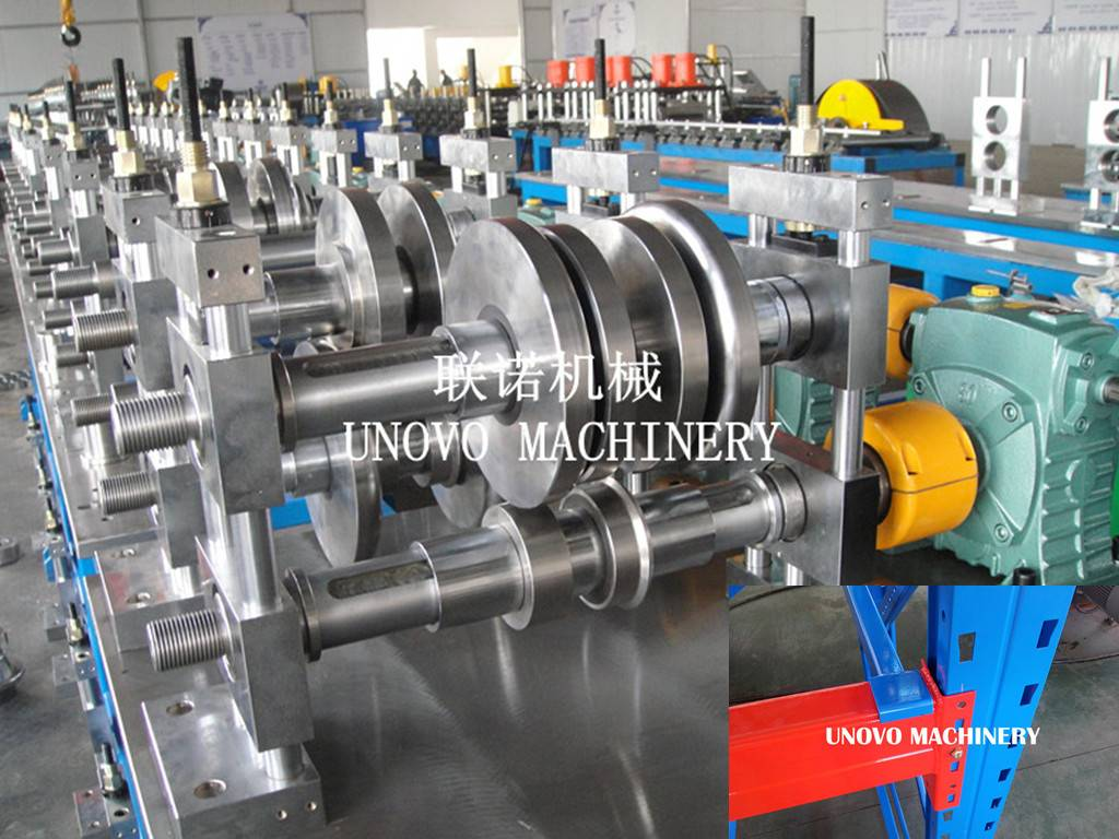heavey duty storage rack roll forming machine