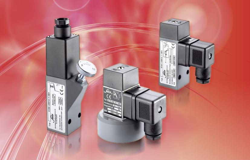 SUCO Pressure switches 30 A/F