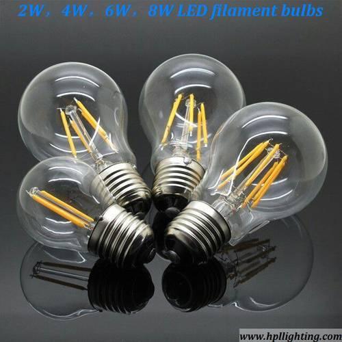 8W LED Filament Bulbs