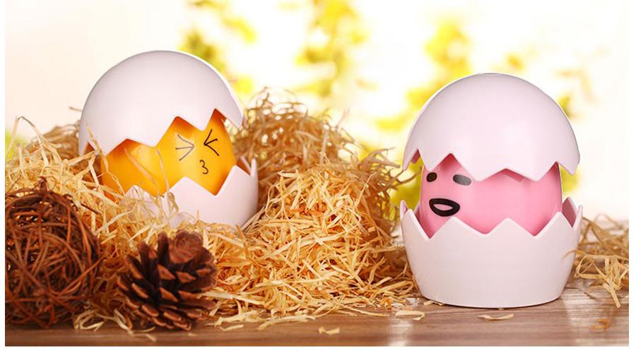 mini cute egg night light for kids