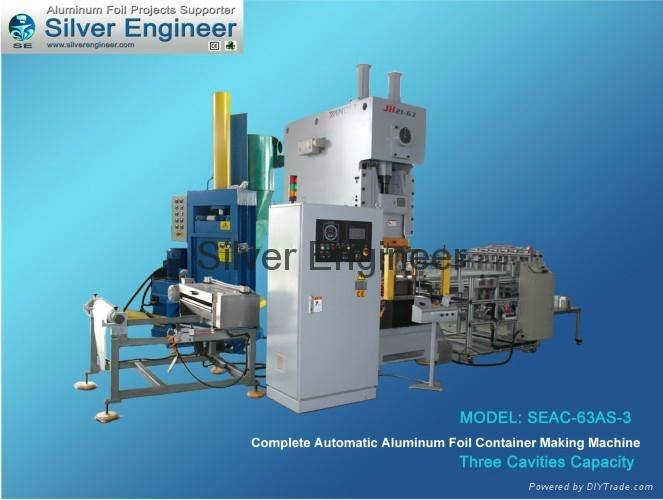 Real Chinese Automatic Aluminum Foil Container Production Line