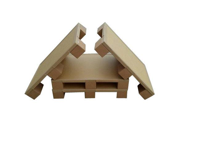High quality and recyclable paper pallet for transportation
