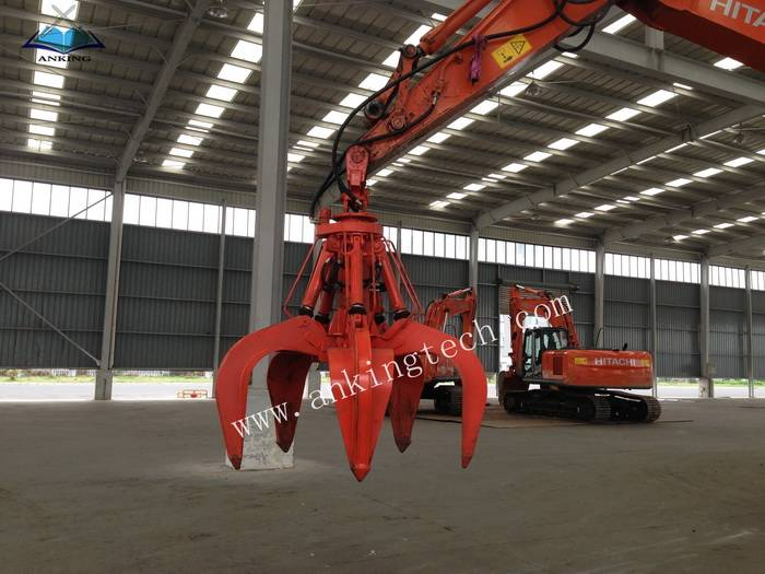 Excavator Hydraulic Timber Grab for wood