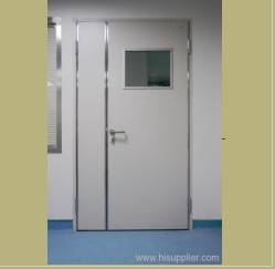 manual hinged doors