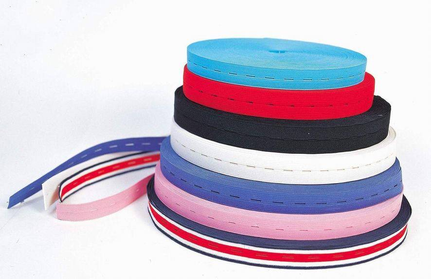 elastic tape for bras and pants