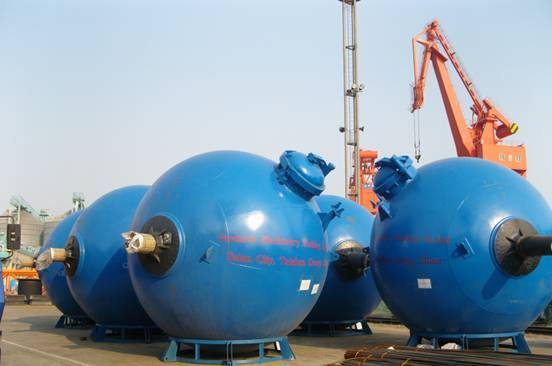 Rotary spherical digester