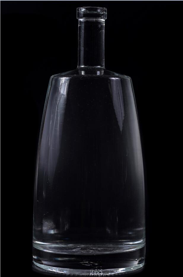 750ml empty glass bottle for vodka,700ml empty wine glass bottles ,1liter crystal glass bottles