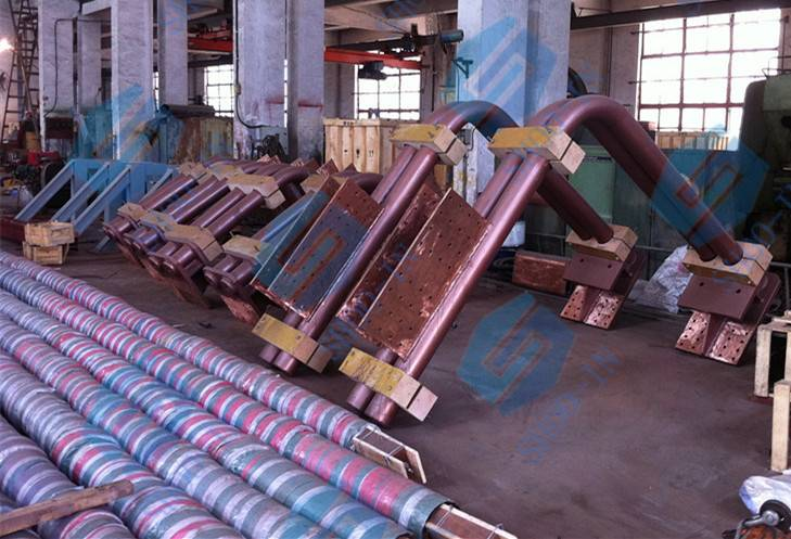 Electric arc furnace EAF water cooling cable and short net