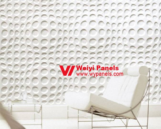 Home Depot 3D Wall Panels-3D Wave Wall Panels WY-168