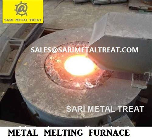 gas fired melting furnace for copper, aluminum, zinc, brass melting furnace