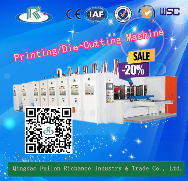 7-R Series Automatic Corrugated Printer Slotter Die Cutting Machine