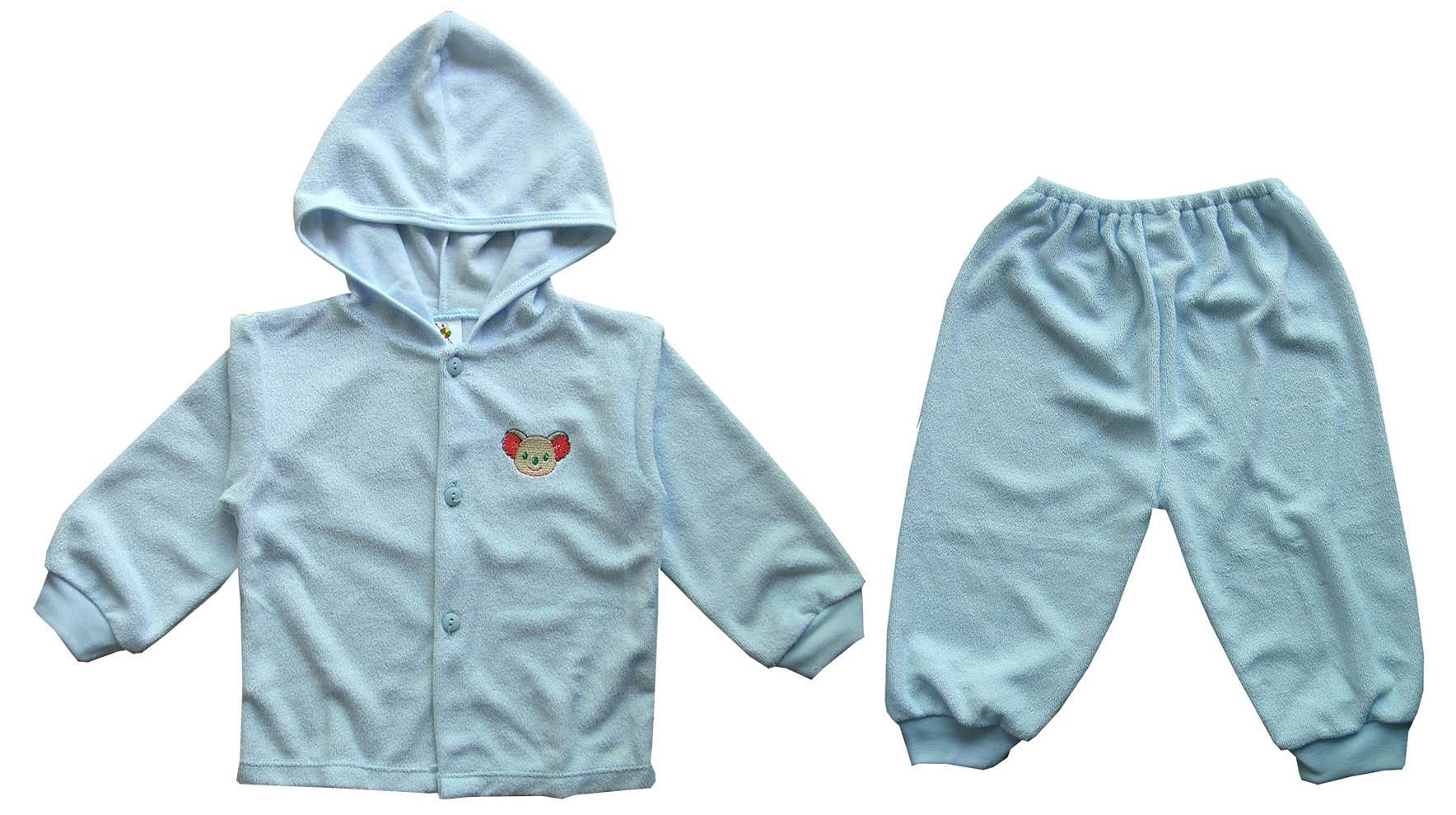 baby hood and long pants