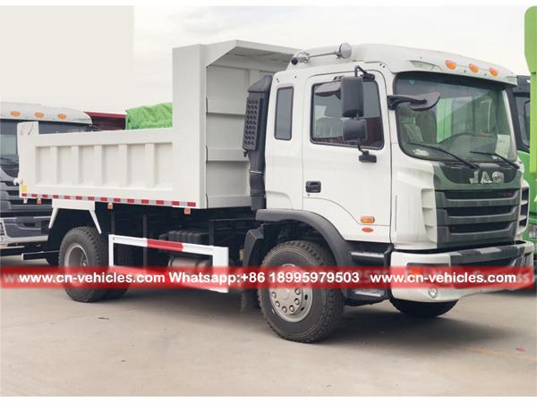 JAC Left Hand Driver 4X2 Dump Trucks Tipper Trucks for Kazakhstan