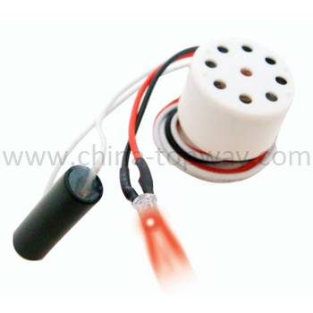 Sound module with led for plush toy