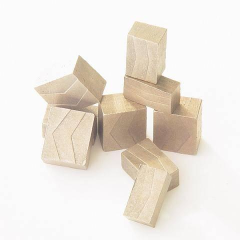 diamond segment for marble granite concrete cutting
