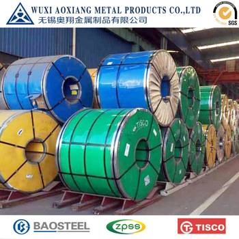 certificated 201/304/304L/321/316/316L/309/309S/310S/430/904L stainless steel coils
