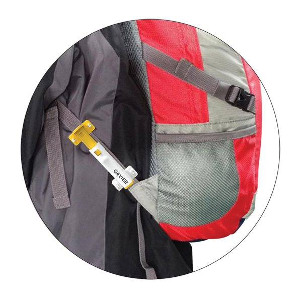 Shock absorber for school bag or backpack - GAVIER