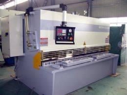 QC12K CNC Hydraulic Plate Shearing Machine