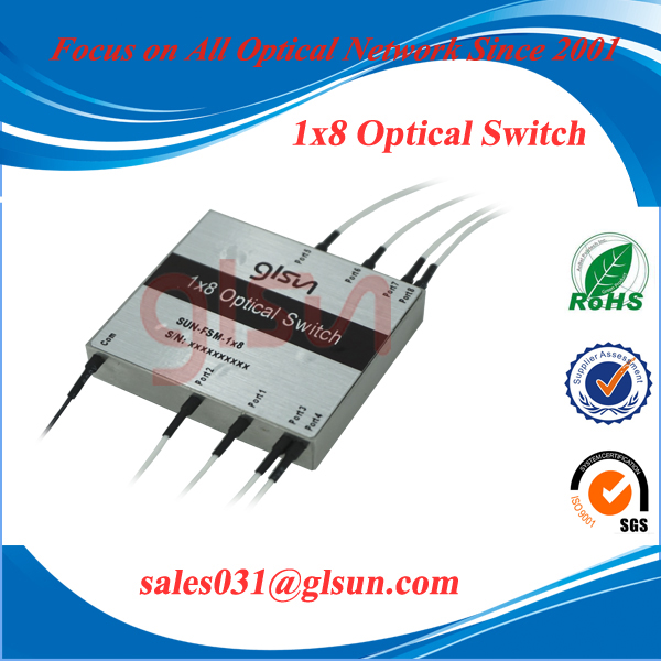 GLSUN 1x8 Fiber Optical Switch