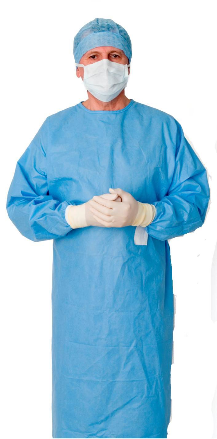 Dispoable hospital gown