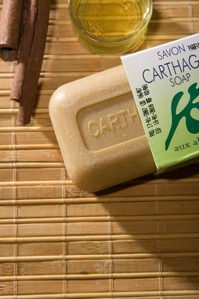 Soap with marine  alga