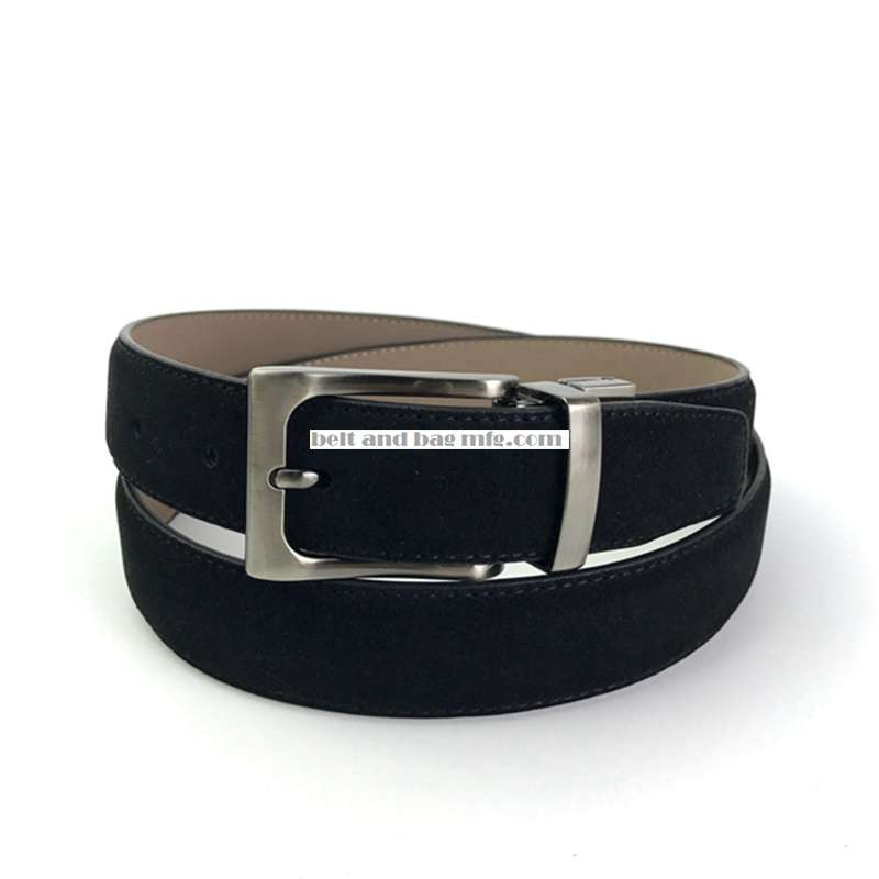 Men's Suede Leather Belt YM-040