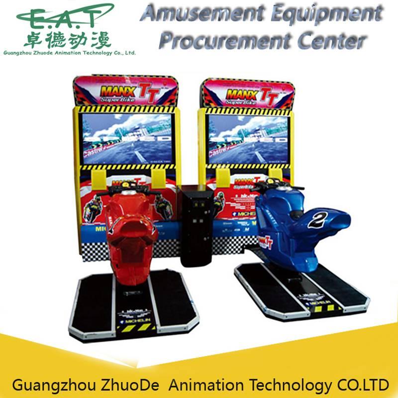 32 inch LCD TT Motor real arcade motor racing game machine