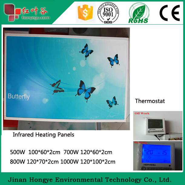 2015 Most Efficency Wall Mounted Electric Infrared Heater Panel