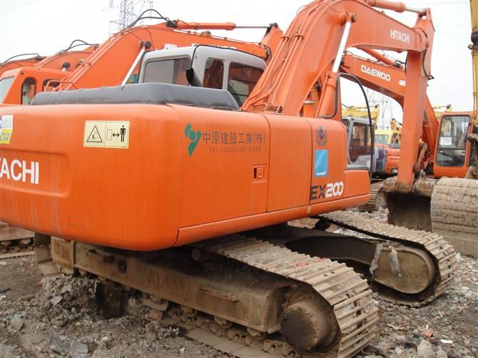 Used Crawler Excavator Hitachi EX200-5 for sale