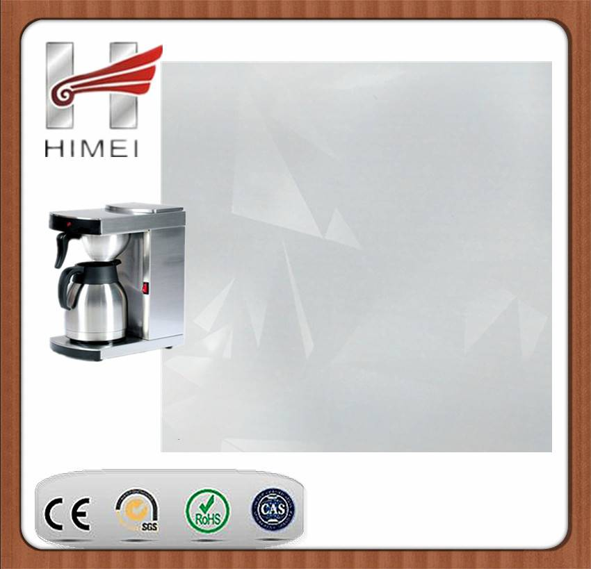 Pvc film laminated steel sheet for coffee machine