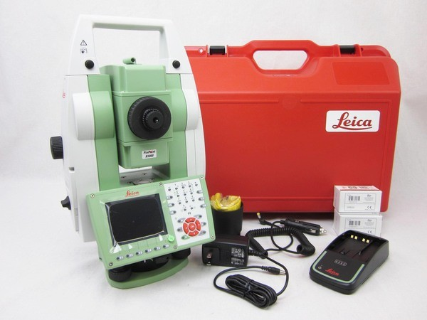"""Used 2015 Leica TS15P 1"""" R1000 Robotic Total Station"""
