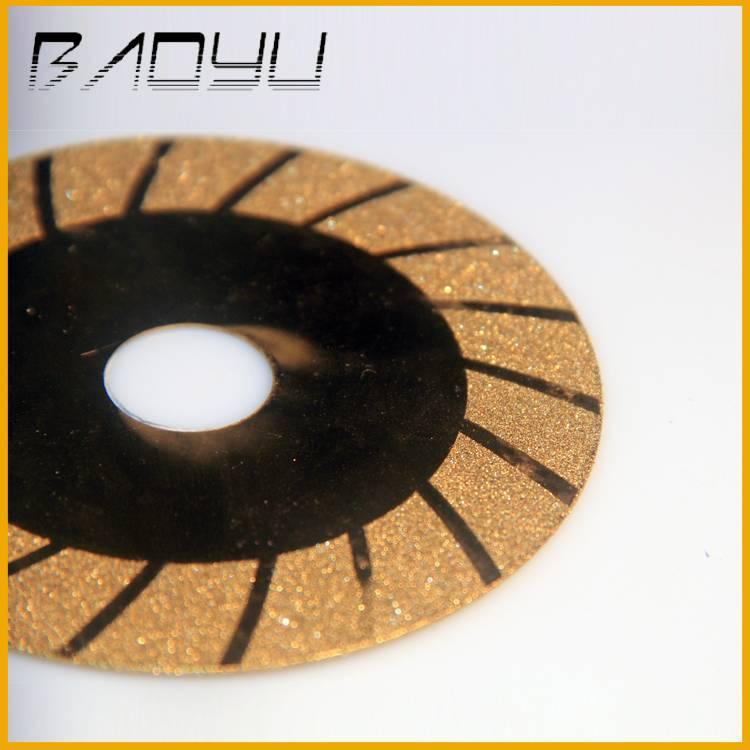 Ti-coated Diamond Electroplated Disc