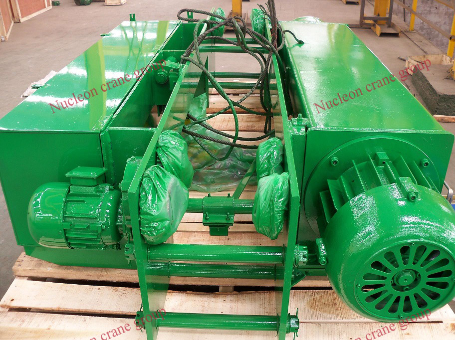 Low Headroom Monorail Traveling Wire rope Electric Hoist