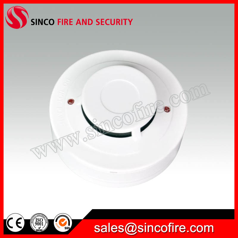 Conventional Photoelectric Smoke Detector for Fire Alarm Control Panel