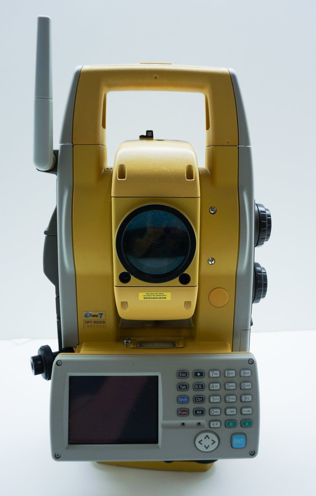 "Used Topcon GPT-9001A 1"" Reflectorless Robotic Total Station"