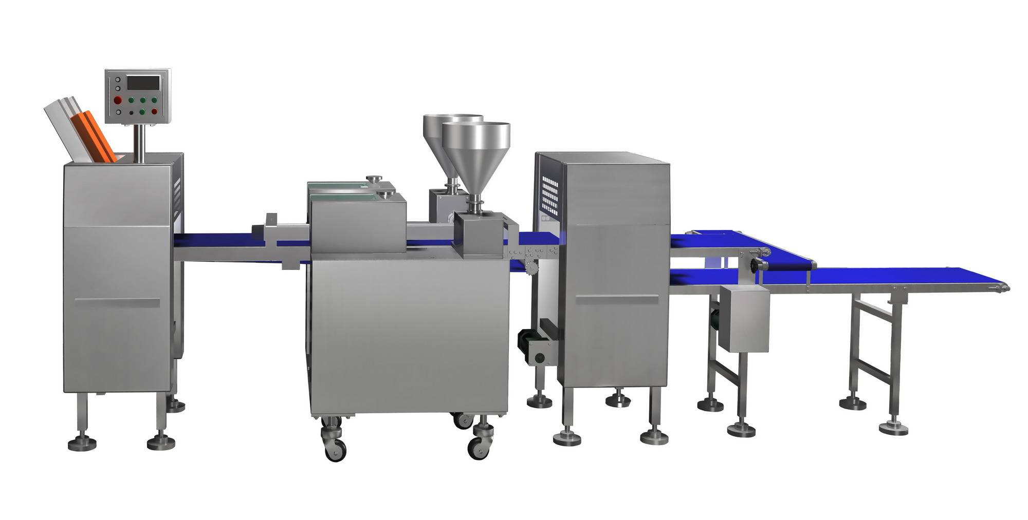 Pita/pocket bread production line