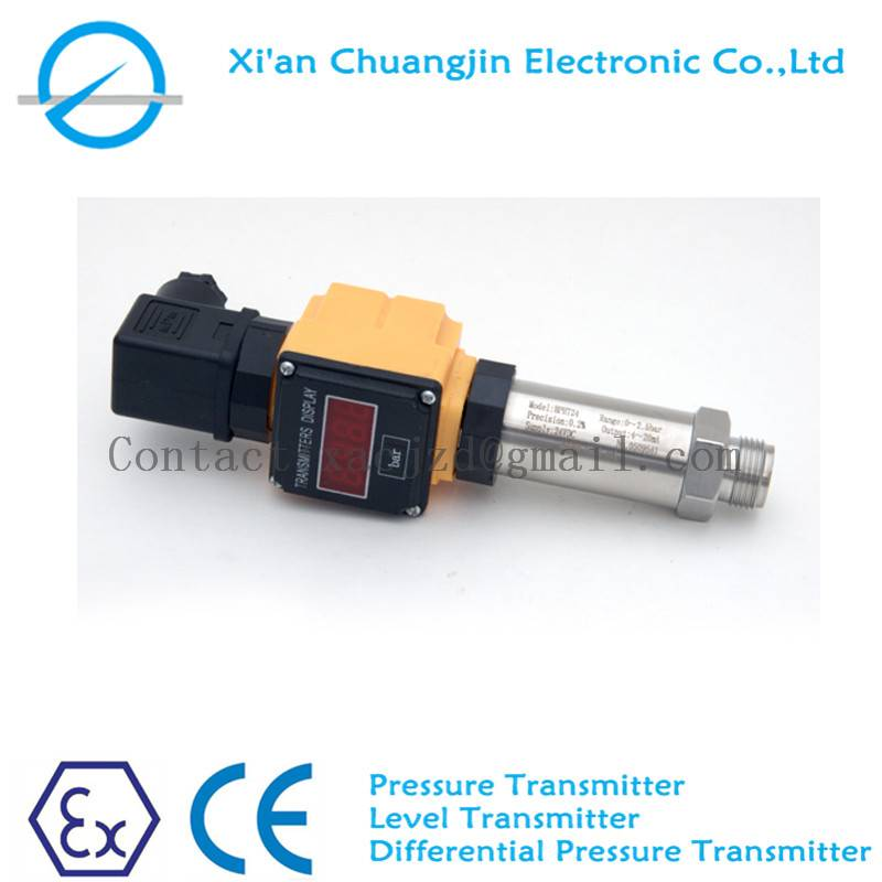 Site display pressure transmitter