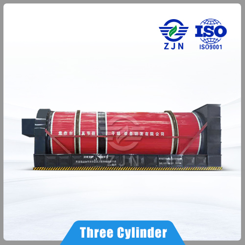 Rotary dryer triple stage multi-loop for Paper Making Sludge Drying