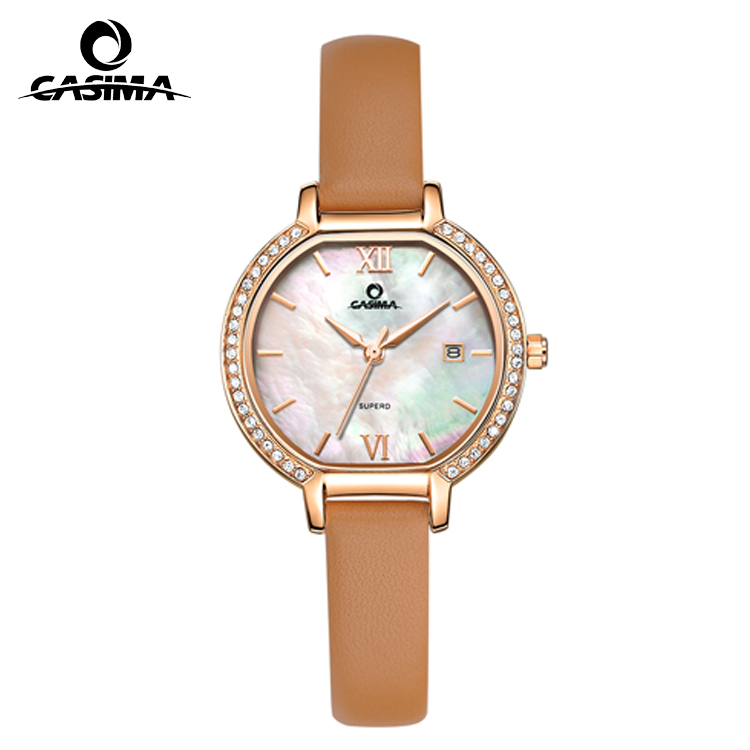 Pretty japan movt quartz watches for ladies
