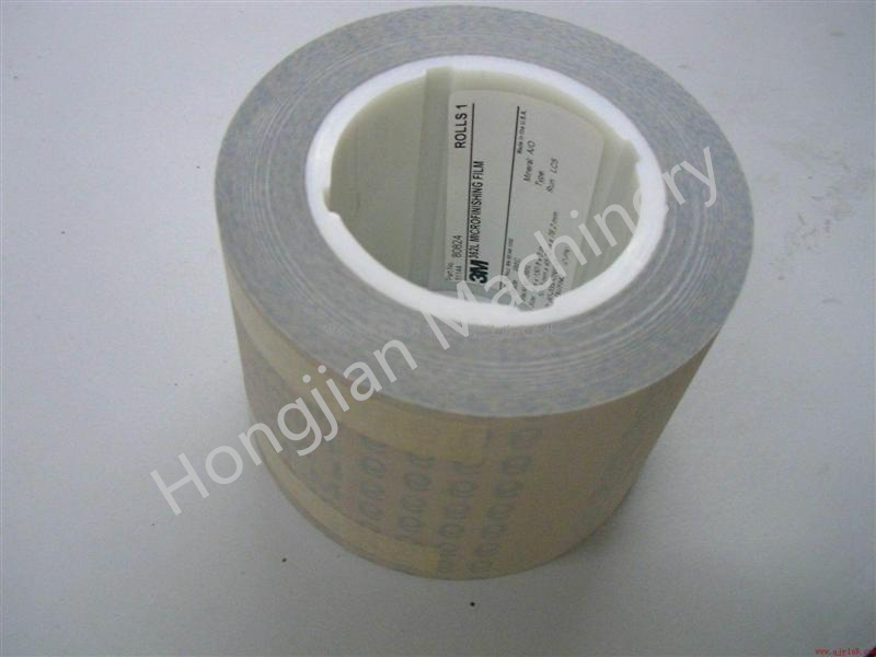 Sand Belt Abrasive Belt Finishing Film for Gravure Cylinder Chrome Polishing