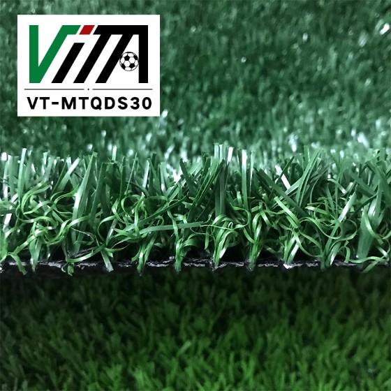 New Type No Infill Thick Football Turf Non Infill Artificial Grass For Indoor Futsal VT-MTQDS30